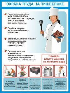 Охрана труда на кухне