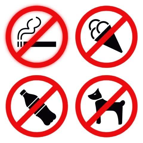 может быть правомерен ли запрет входа с напитккми в магазин известно